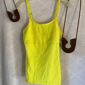 Beyond Yoga SP4043 Cami Lemon Ice NWT